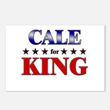 CALE for king Postcards (Package of 8)