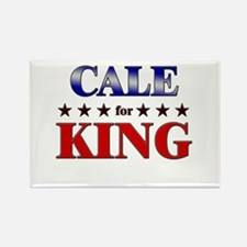 CALE for king Rectangle Magnet