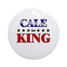 CALE for king Ornament (Round)