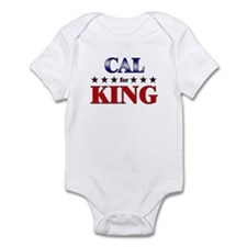 CAL for king Infant Bodysuit
