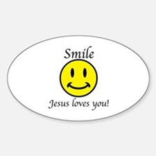Smile Jesus Decal