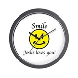 Jesus loves you Wall Clocks