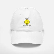 Smile Jesus Baseball Baseball Cap