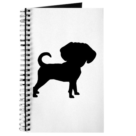 Funny Cute Puggle Journal