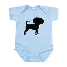Funny Cute Puggle Infant Bodysuit