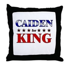 CAIDEN for king Throw Pillow