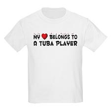 Belongs To A Tuba Player T-Shirt