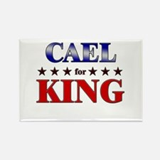 CAEL for king Rectangle Magnet