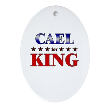 CAEL for king Oval Ornament