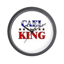 CAEL for king Wall Clock