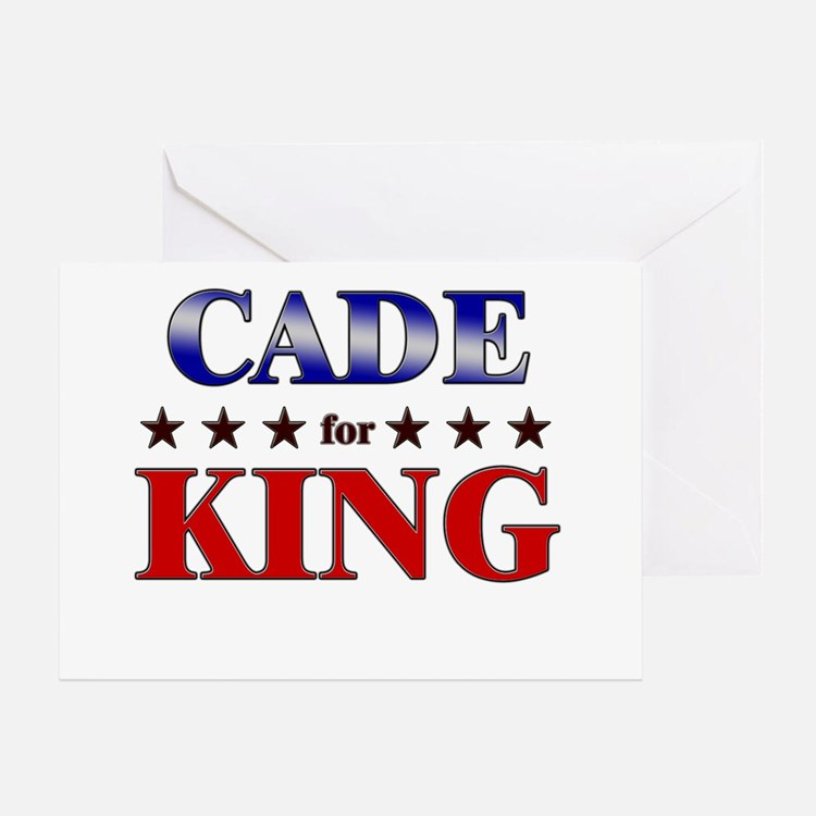 CADE for king Greeting Card