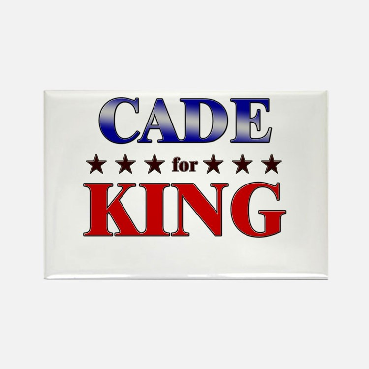 CADE for king Rectangle Magnet