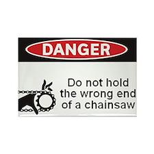 Danger. Do not hold the wrong Rectangle Magnet