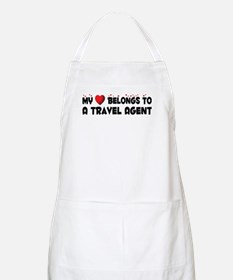 Belongs To A Travel Agent BBQ Apron