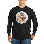 Cookie Lover Long Sleeve Dark T-Shirt
