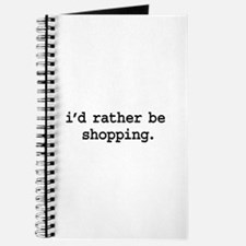 i'd rather be shopping. Journal