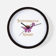 Brontosaurus Rowan Wall Clock