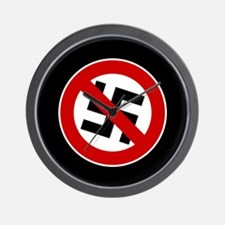 Anti-Nazi Wall Clock