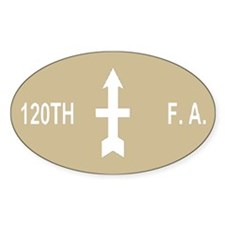 120th Field Artillery <BR>Decal