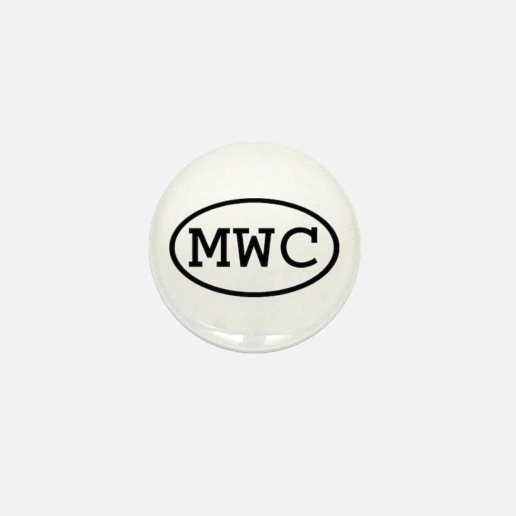 MWC Oval Mini Button