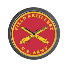 Army Artillery Branch <BR>Wall Clock