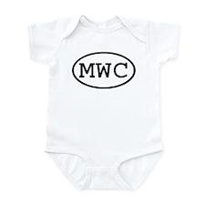 MWC Oval Infant Bodysuit