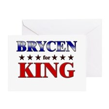 BRYCEN for king Greeting Card