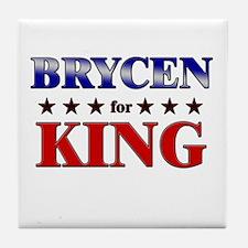 BRYCEN for king Tile Coaster