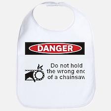 Danger. Do not hold the wrong Bib
