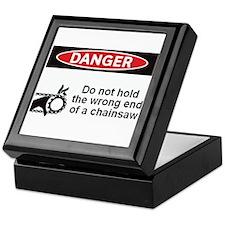 Danger. Do not hold the wrong Keepsake Box