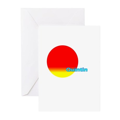 Quintin Greeting Cards (Pk of 10)