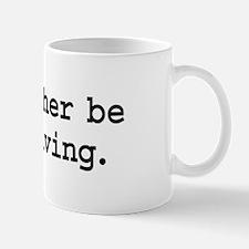 i'd rather be skydiving. Mug