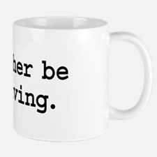 i'd rather be skydiving. Small Small Mug