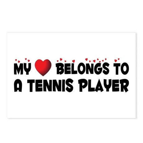 Belongs To A Tennis Player Postcards (Package of 8