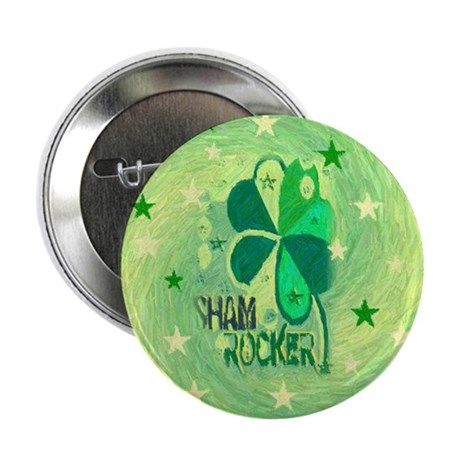 "Shamrocker 2.25"" Button"