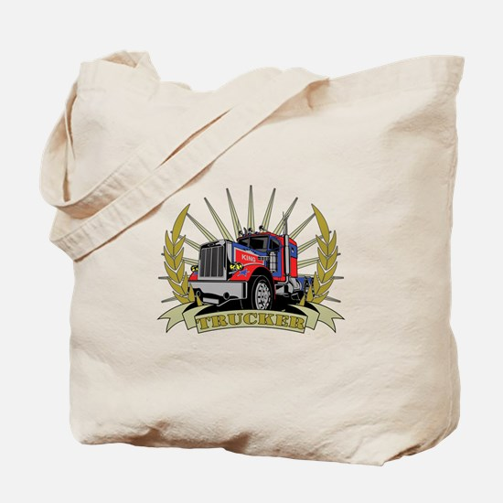 Trucker Gifts Tote Bag