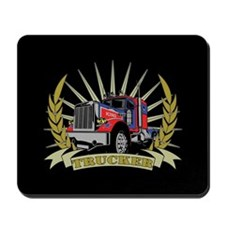 Trucker Gifts Mousepad