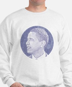 Obama Head Sweatshirt