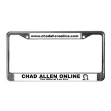 Unique Chad License Plate Frame