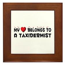 Belongs To A Taxidermist Framed Tile