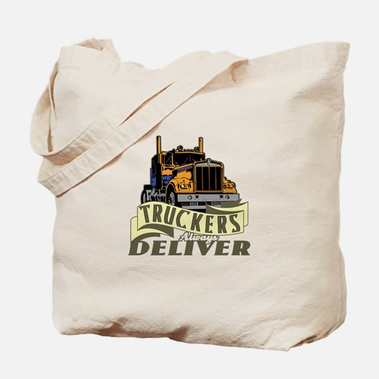 Truckers Deliver 1 Tote Bag