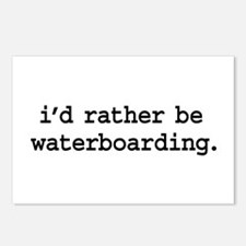 i'd rather be waterboarding. Postcards (Package of