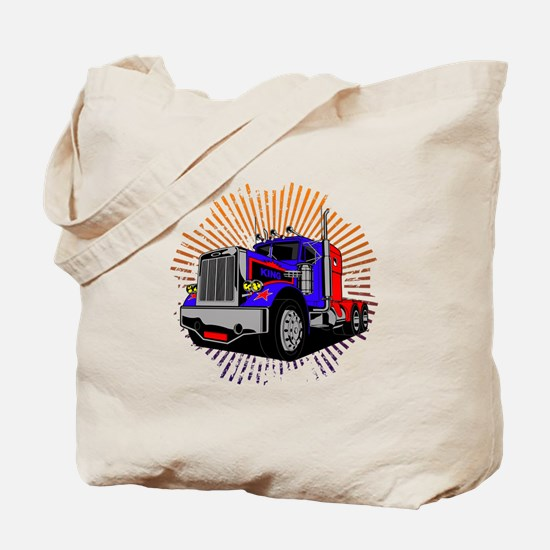 King Trucker Tote Bag