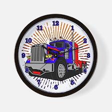King Trucker Wall Clock