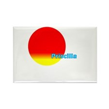 Priscilla Rectangle Magnet
