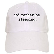 i'd rather be sleeping. Baseball Cap