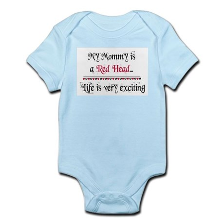 My Mommy Is A Redhead Infant Bodysuit