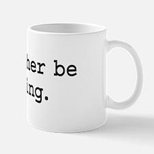 i'd rather be voting. Mug