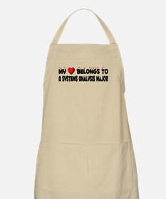 Belongs To A Systems Analysis Major BBQ Apron