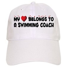 Belongs To A Swimming Coach Baseball Cap
